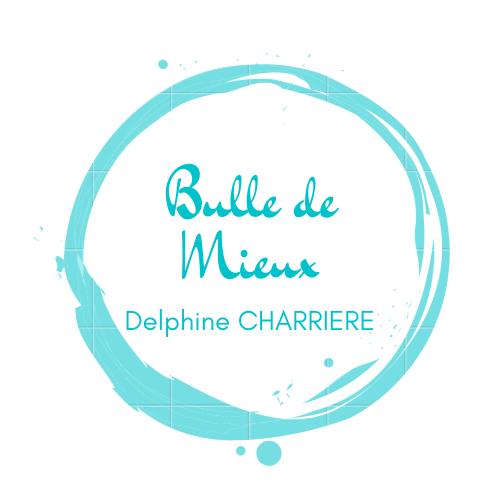 Logo Delphine Charrière - Sophrologie, Hypnose, EFT Grenoble & Grésivaudan