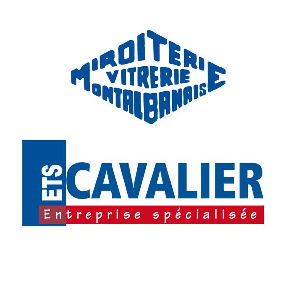 Logo Cavalier Miroiterie Vitrerie Ets