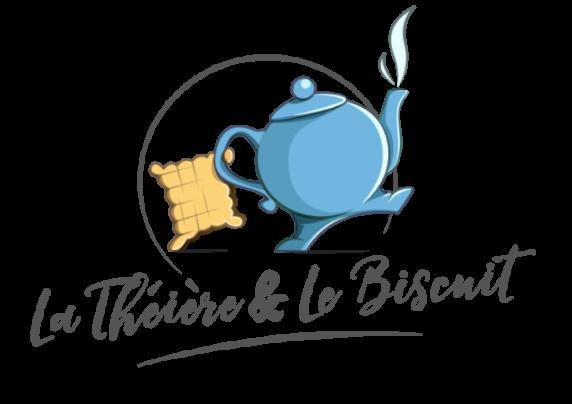 Logo La théière et le biscuit