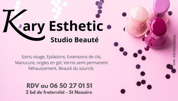 Logo Kary Esthetic / Studio Beauté St Nazaire