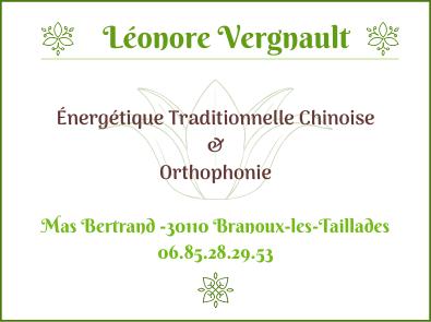 Logo Léonore Vergnault