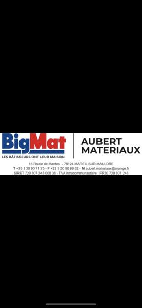 Logo BIGMAT AUBERT MATERIAUX