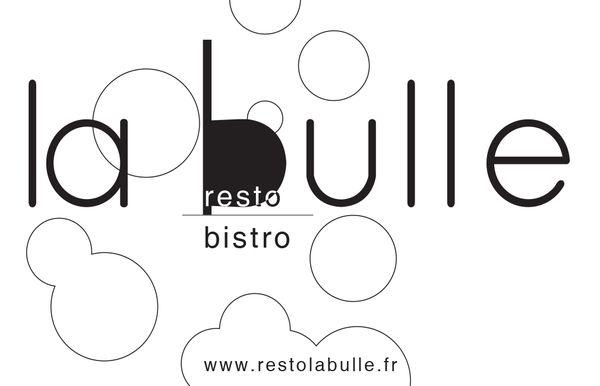 Logo Resto La Bulle