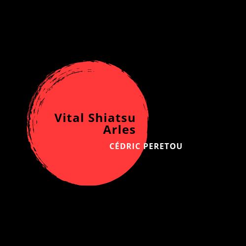 Logo Vital Shiatsu Arles, Cédric PERETOU