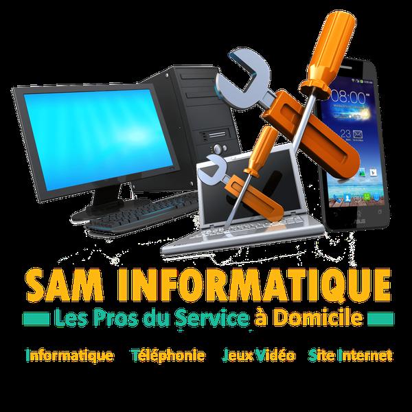 Logo Sam Informatique - Les Pros du Service à Domicile