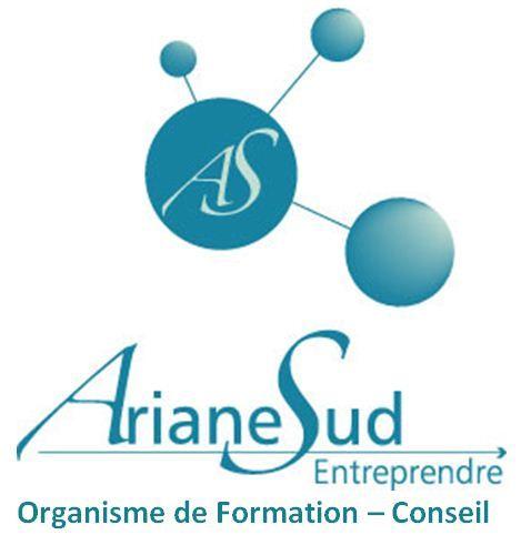 Logo Ariane Sud Entreprendre Formation Conseil Siège