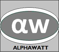 Logo Alphawatt SARL