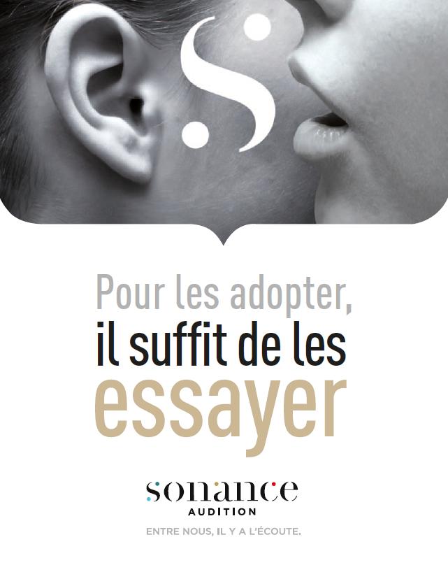 Logo Sonance Audition Audioprothésiste