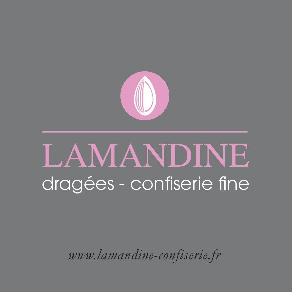 Logo Lamandine Dragées Confiserie Lamande
