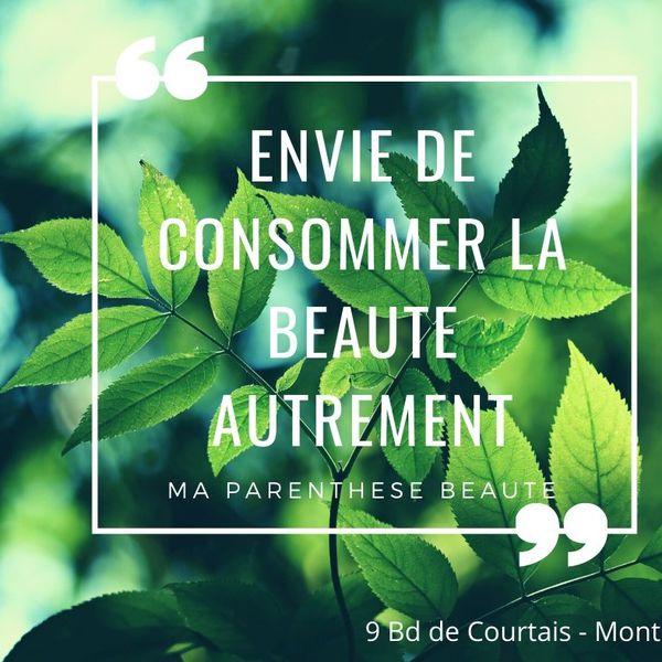 Logo Ma Parenthèse Beauté Institut- cosmétique naturelle, bio