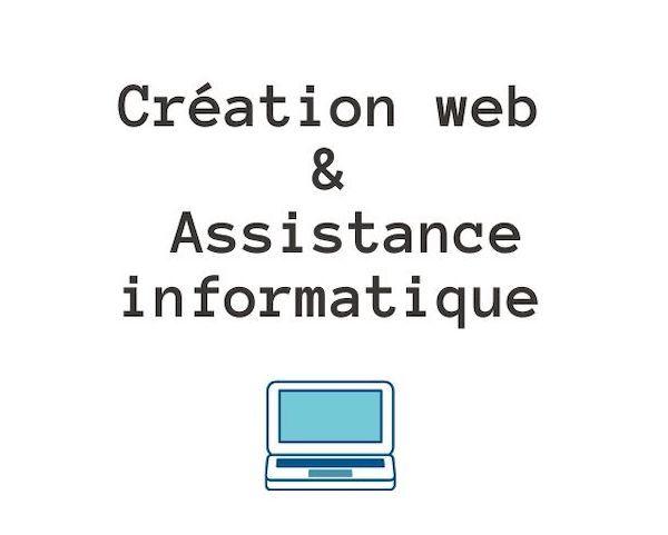 Logo Créations web et assistance informatique