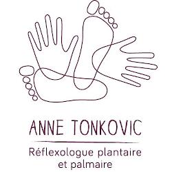 Logo Anne Tonkovic Réflexologie