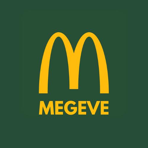 Logo McDonald's Megève