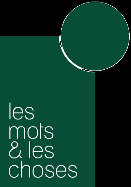 Logo Les Mots Et Les Choses