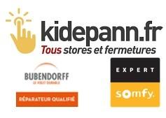 Logo Kidepann Régnier Fermetures Réparateur agréé