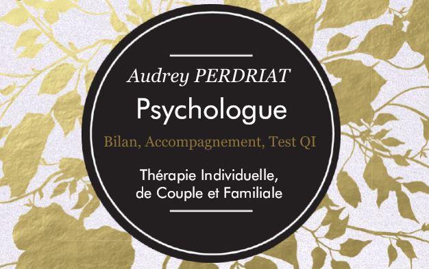 Logo Audrey PERDRIAT Psychologue