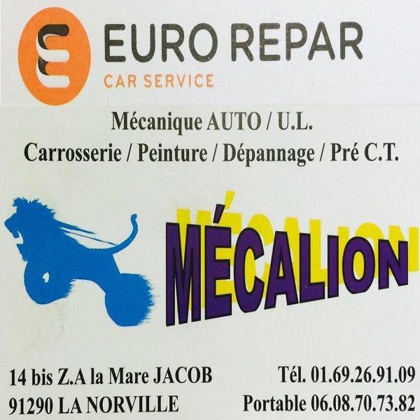 Logo Mécalion SARL