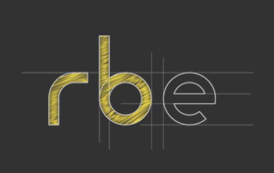 Logo R . B . E Decoration