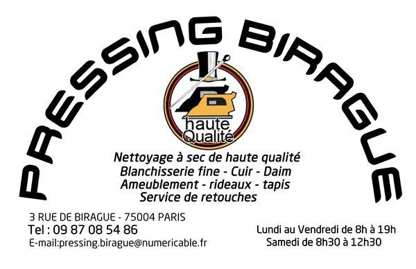 Logo Pressing Birague