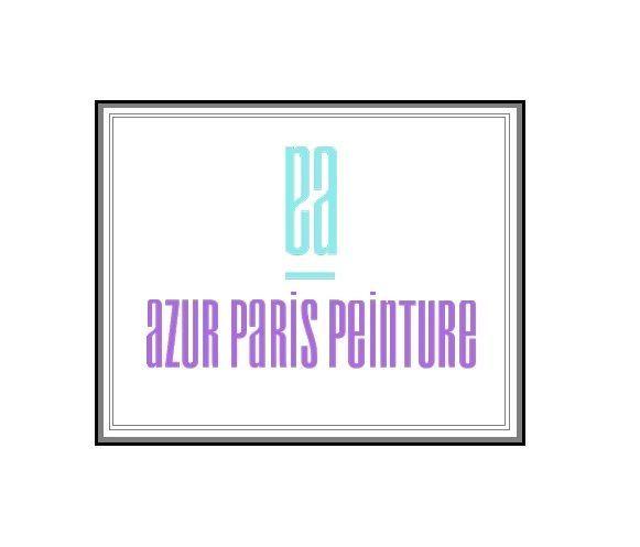 Logo Azur Paris Peinture