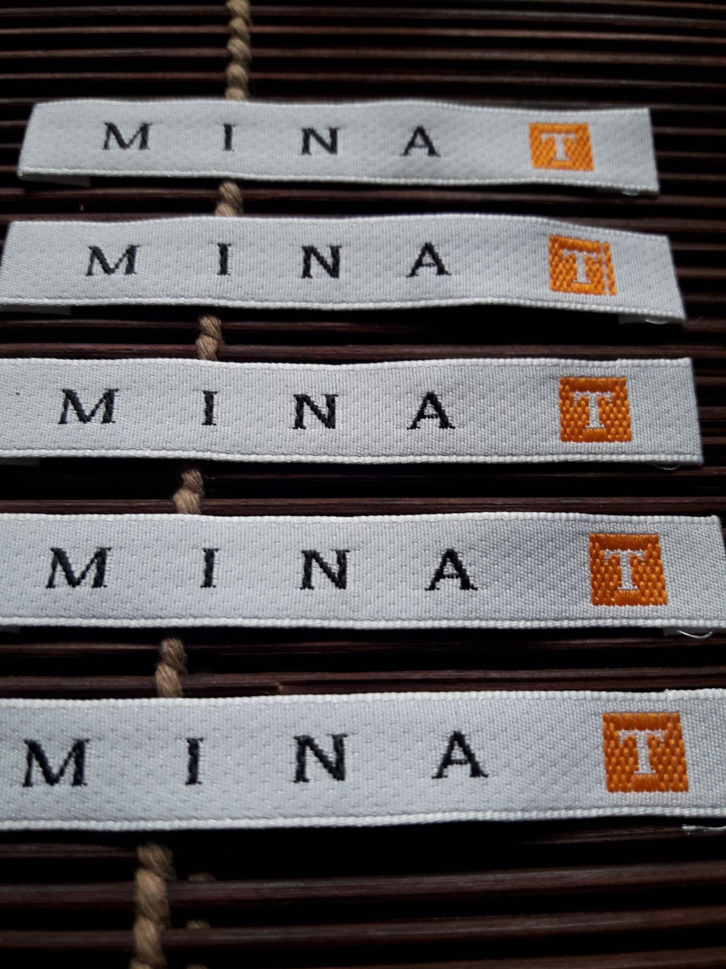 Logo MINA . T couture