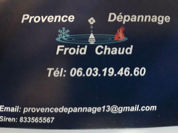 Logo Provence Dépannage Froid Chaud