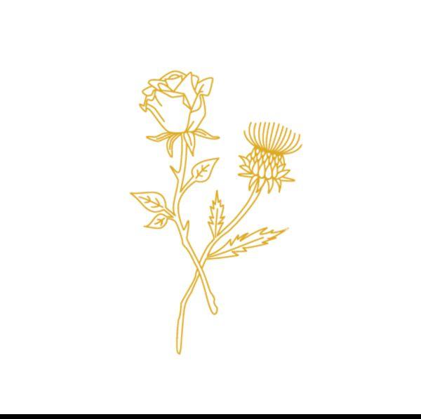 Logo Rose Et Chardon