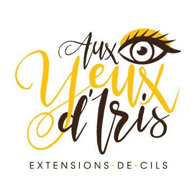 Logo Aux Yeux D'iris Extension De Cils