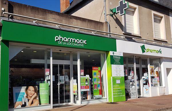 Logo Pharmacie  De La Locomotive