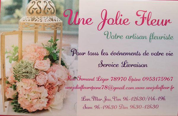 Logo Une Jolie Fleur