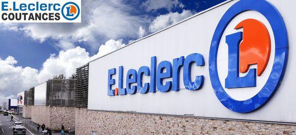 Logo Centre E.Leclerc COUTANCES
