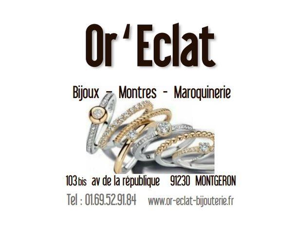 Logo Or Eclat