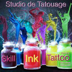 Logo Skill Ink Tattoo