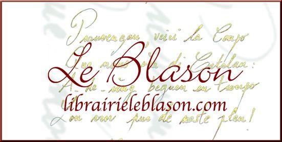 Logo Librairie Le Blason