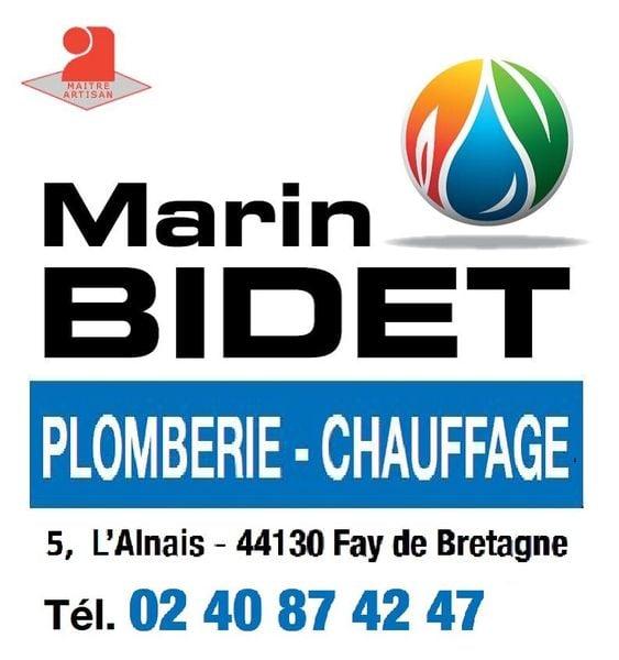 Logo Entreprise Bidet Marin