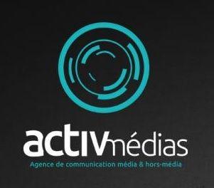 Logo ACTIV MEDIAS ST ETIENNE