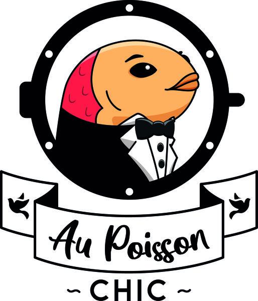 Logo Au Poisson Chic