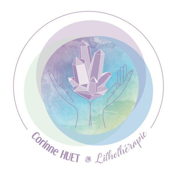 Logo Huet Corinne Magnétiseur Lithothérapeute