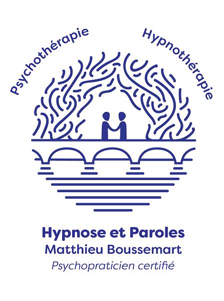 Logo Matthieu Boussemart Cabinet 'Hypnose & Paroles'