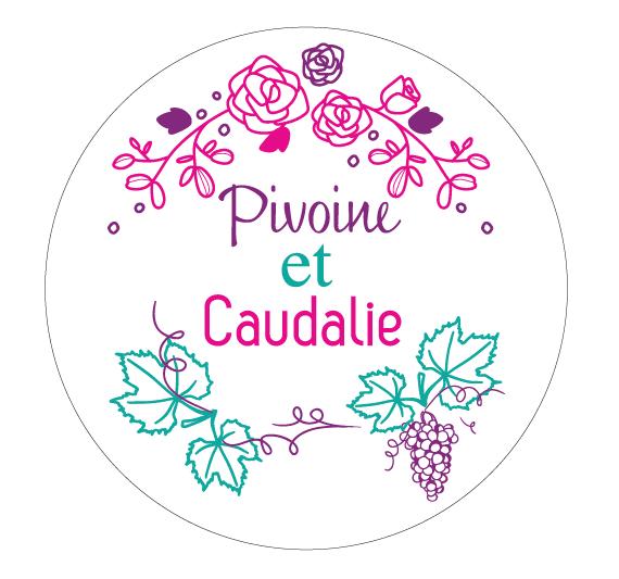 Logo Pivoine et Caudalie