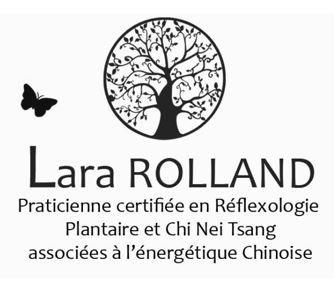 Logo Lara Rolland Reflexologie Plantaire et chi nei Tsang