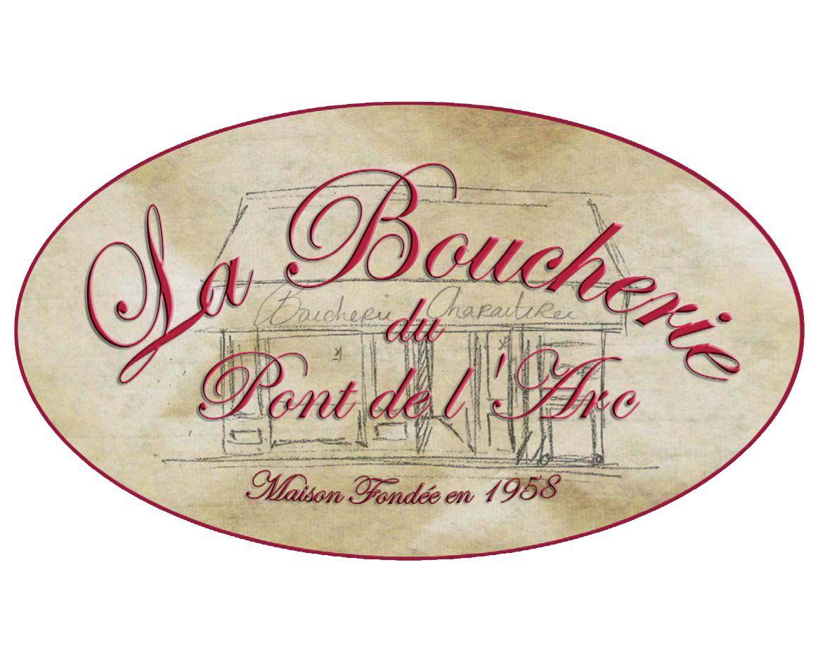 Logo Boucherie du Pont de l'Arc, pont de l'arc, aix-en-provence