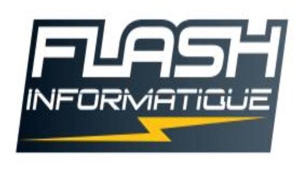 Logo FLASH INFORMATIQUE SERVICES   PC   MAC   MOBILE   TABLETTE