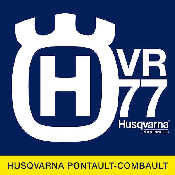 Logo HVR 77 | Husqvarna Motorcycles