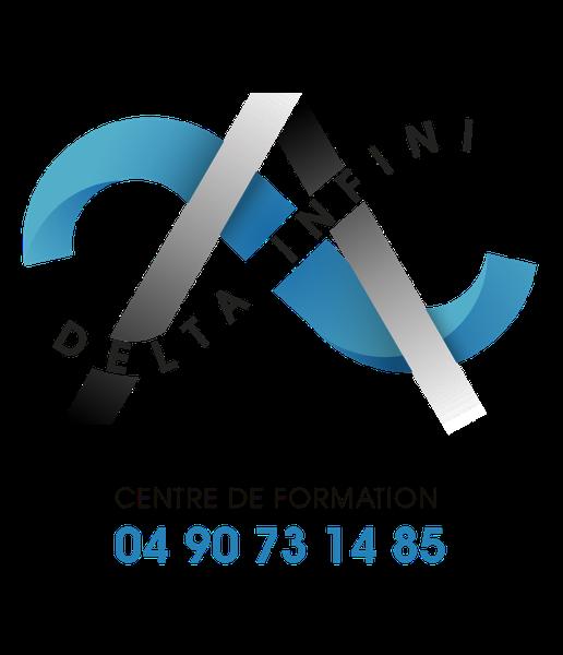 Logo Formation delta-infini