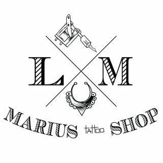 Logo Marius Tattoo shop