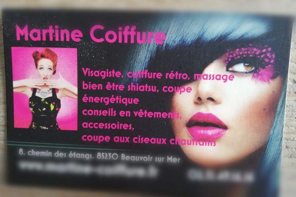 Logo Martine Coiffure