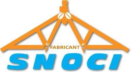 Logo SNOCI, Charpentes Industrielles et Traditionnelle en Vendée