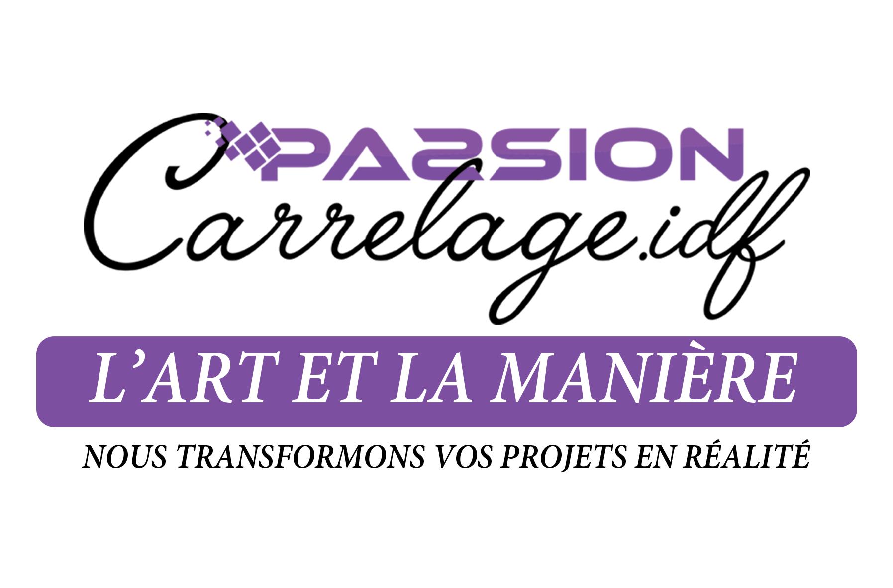Logo Passion Carrelage IDF