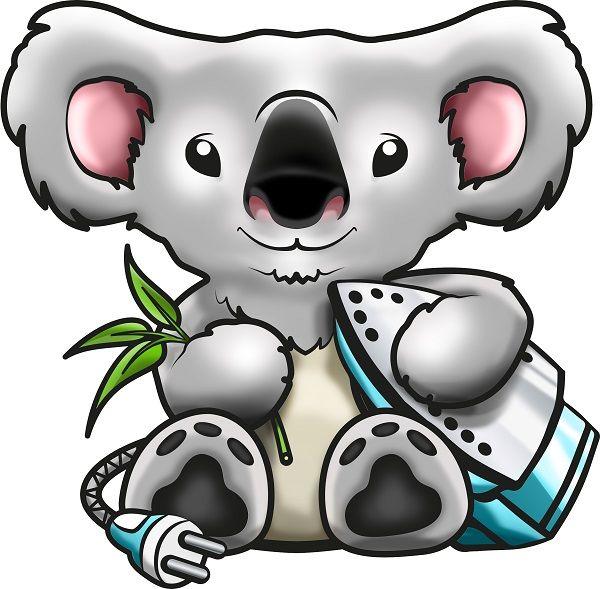 Logo Koala Pressing